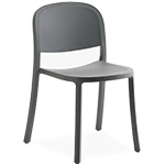 1 inch reclaimed stacking chair - Jasper Morrison - emeco
