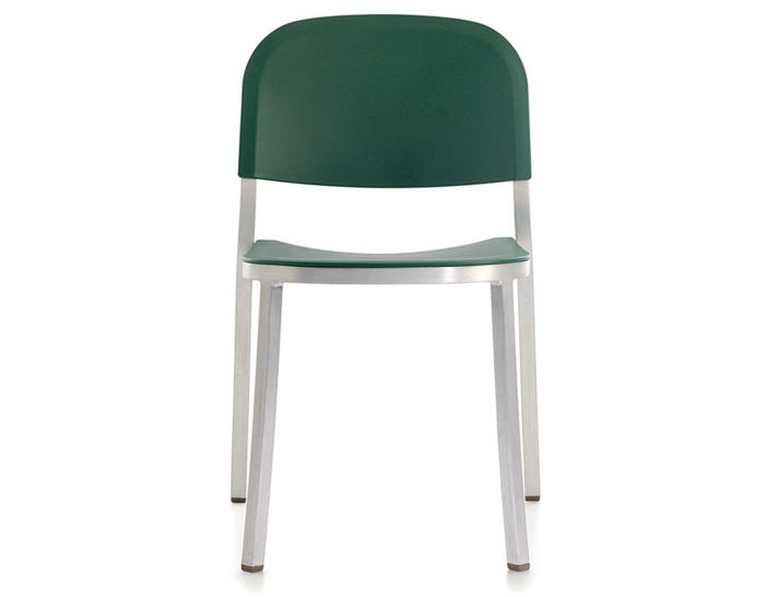 emeco 1 inch stacking chair