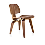 eames molded dining chair - dcw