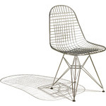 eames wire chair - with seat pad