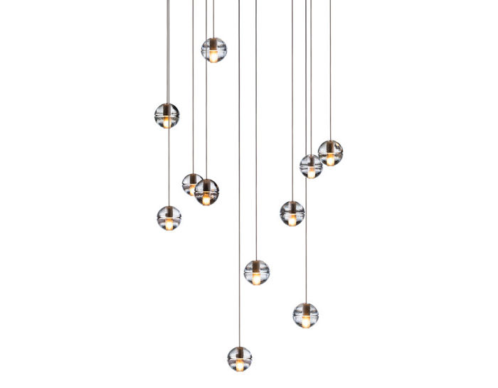 bocci 14.11 eleven pendant chandelier