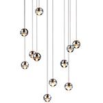 bocci 14.11 eleven pendant chandelier  -