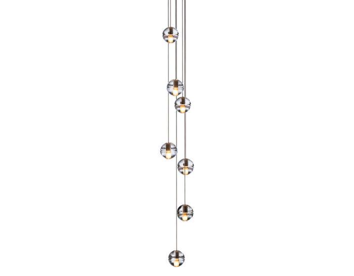 bocci 14.7 seven pendant chandelier