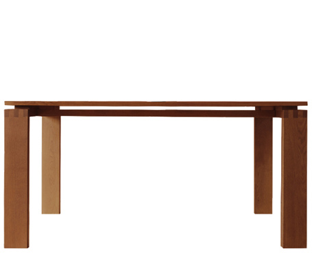 003 atlantico table - oak