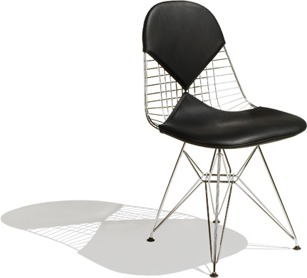 eames wire chair - bikini pad