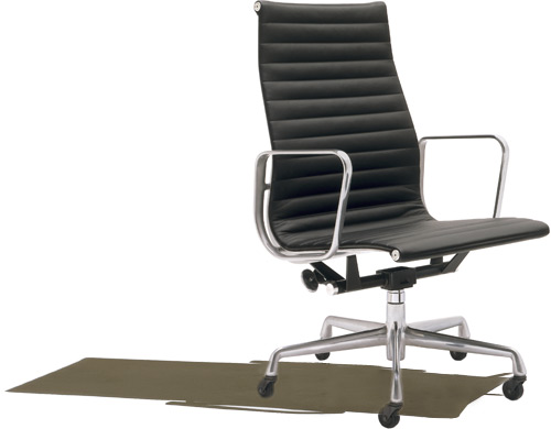 eames aluminum group - executive chair