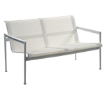schultz 1966 two seat lounge chair with arms  -