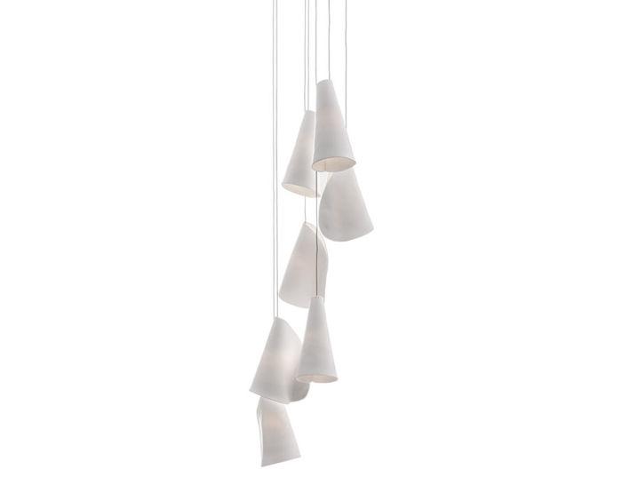 bocci 21.7 seven pendant chandelier