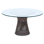 platner bronze dining table