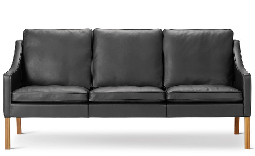 mogensen 2209 three seat club sofa