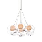 bocci 28.7 cluster seven pendant chandelier  -
