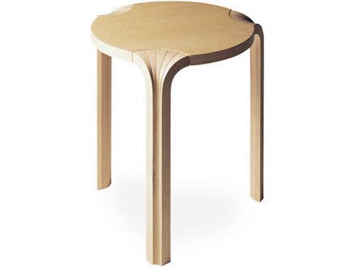 Guild Of Oregon Woodworkers Alvar Aalto Stool X600 How