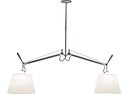 tolomeo double shade suspension lamp