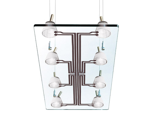 lastra 8 suspension lamp