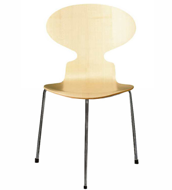 3 Leg Ant Chair Wood
