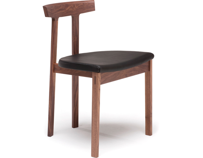 torii chair with upholstered seat