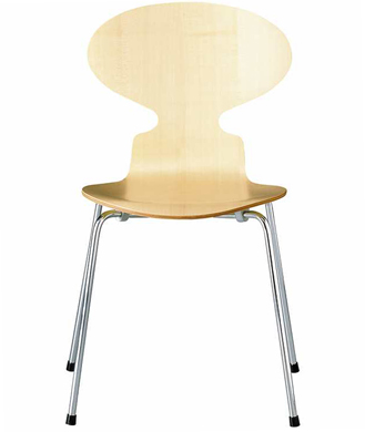 4-leg ant chair - wood