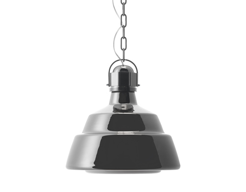 glas suspension lamp