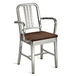 emeco navy chair- wood