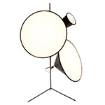 cone light tripod stand