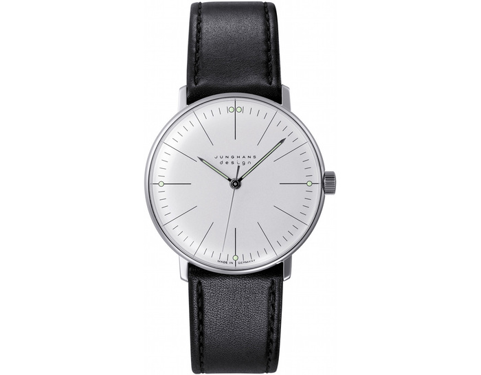 max bill manual wrist watch - lines