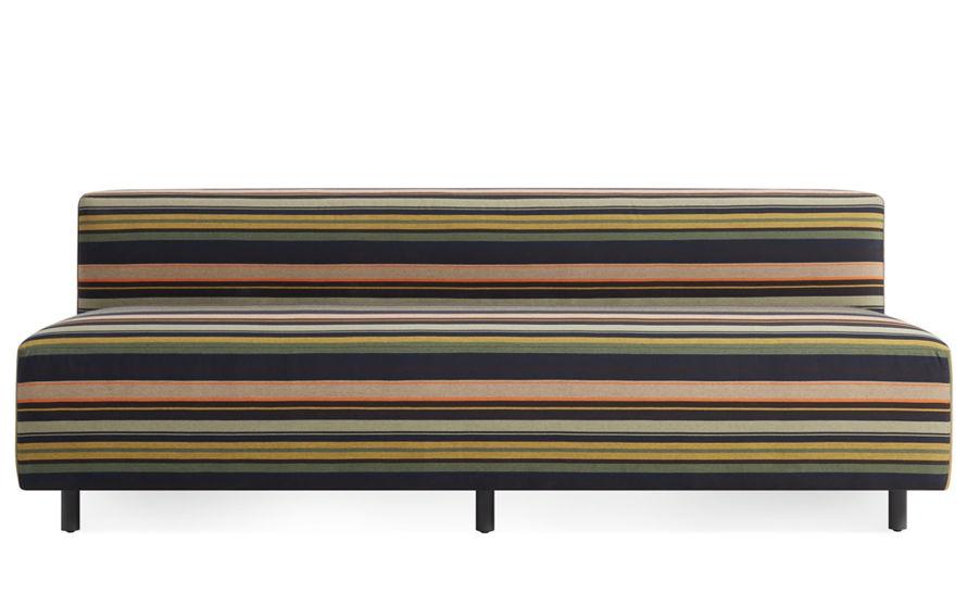 9 yard outdoor 72 inch armless sofa