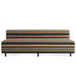 9 yard outdoor 72 inch armless sofa  -