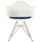 Eames® wire base armchair with seat pad - Eames - Herman Miller