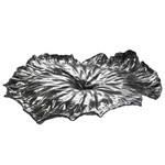 a lotus leaf centerpiece  -