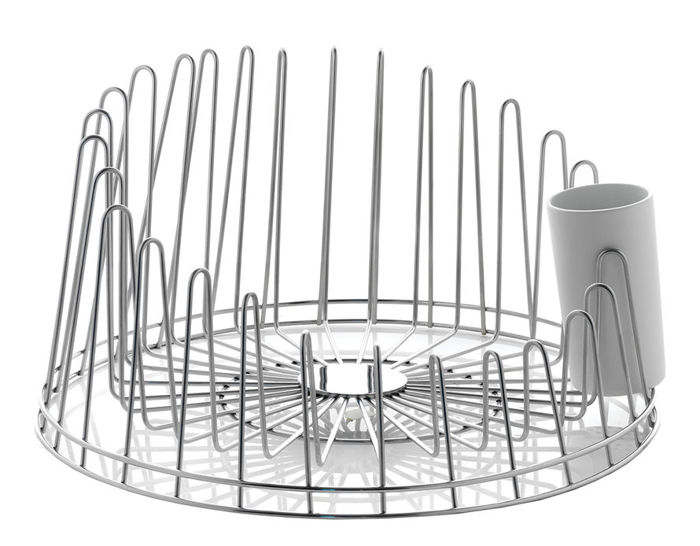 a tempo dish drainer with tray