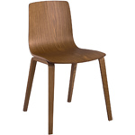 aava wood chair  - arper