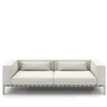 able outdoor 92 inch sofa with arms  -