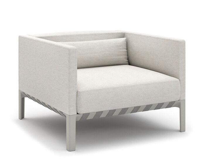 able outdoor armchair