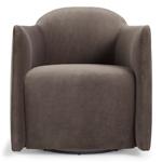 about face swivel lounge chair  - blu dot