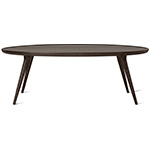 accent oval lounge table  -