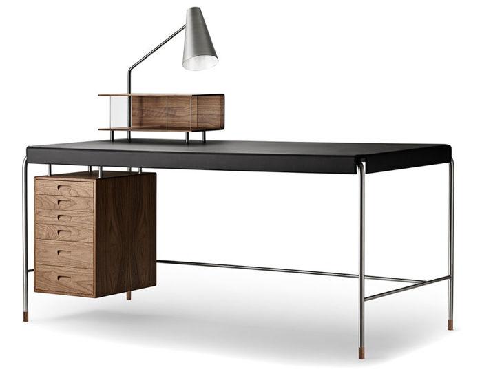 aj52 society table by arne jacobsen for carl hansen & son
