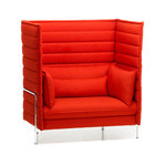 alcove highback love seat  -