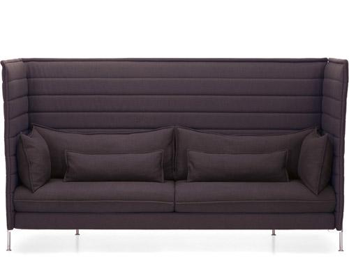 Alcove Highback Three Seater Sofa Hivemodern Com