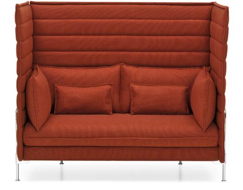 Alcove Highback Two Seater Sofa Hivemodern Com