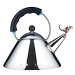 alessi 9093 michael graves tea rex kettle  -