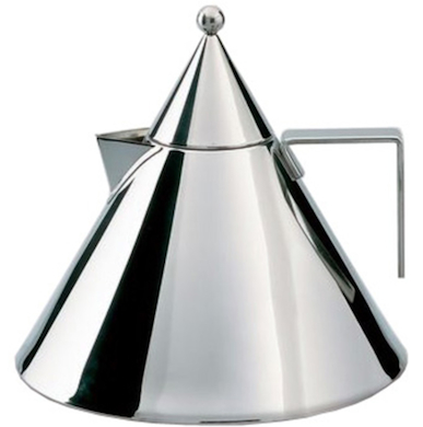 alessi il conico kettle. Black Bedroom Furniture Sets. Home Design Ideas
