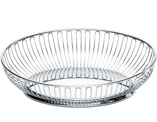 alessi oval wire basket