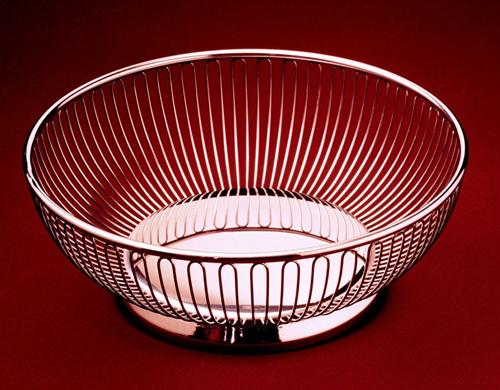 Alessi round wire basket - Alessi fruit basket ...