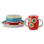 alessini con-centrici childrens tableware set  -