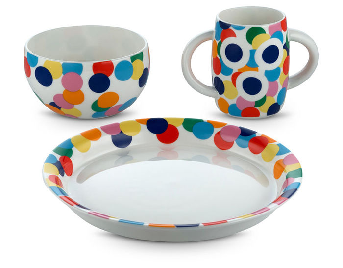 alessini proust children's tableware set