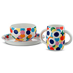 alessini proust childrens tableware set - A. Mendini - Alessi