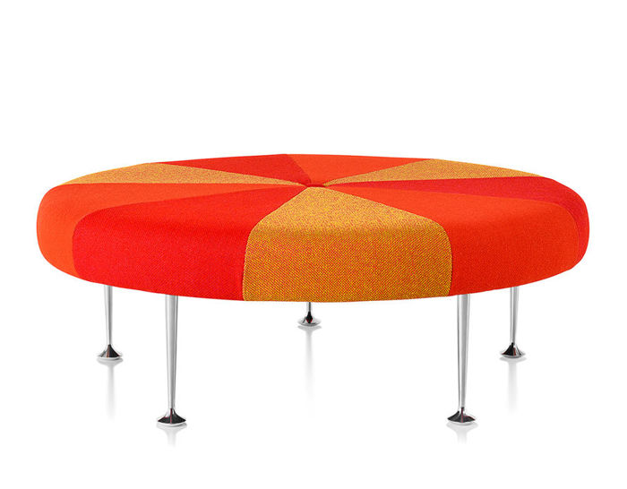 alexander girard® color wheel ottoman