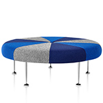 alexander girard® color wheel ottoman  -