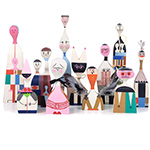 wooden dolls by alexander girard  -