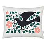 alexander girard graphic print dove pillow